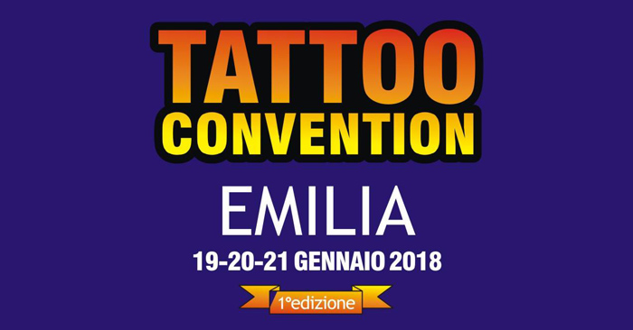 Emilia Tattoo Convention 2018 #1°Edizione