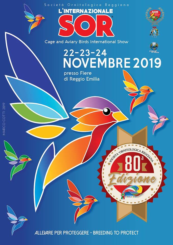 80° Esposizione Internazionale Ornitologica (Cage and Aviary Birds International Show)