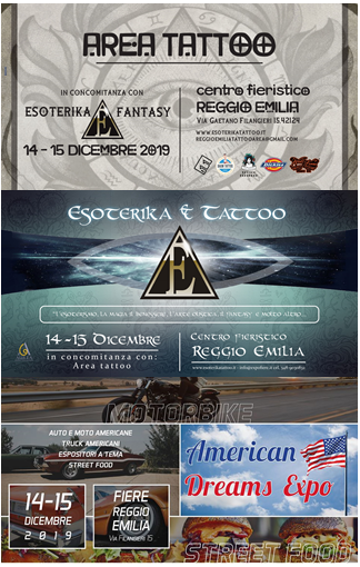 Area Tattoo, Esoterika & Tattoo e American Dreams Expo